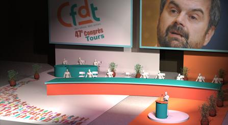CFDT – 47e congrès (Tours ; 7-11 juin 2010)
