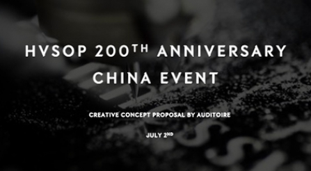 Hennessy –  HVSOP 200th Anniversary China Event