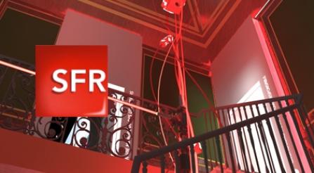 SFR – Scénographie pour l'Appart SFR